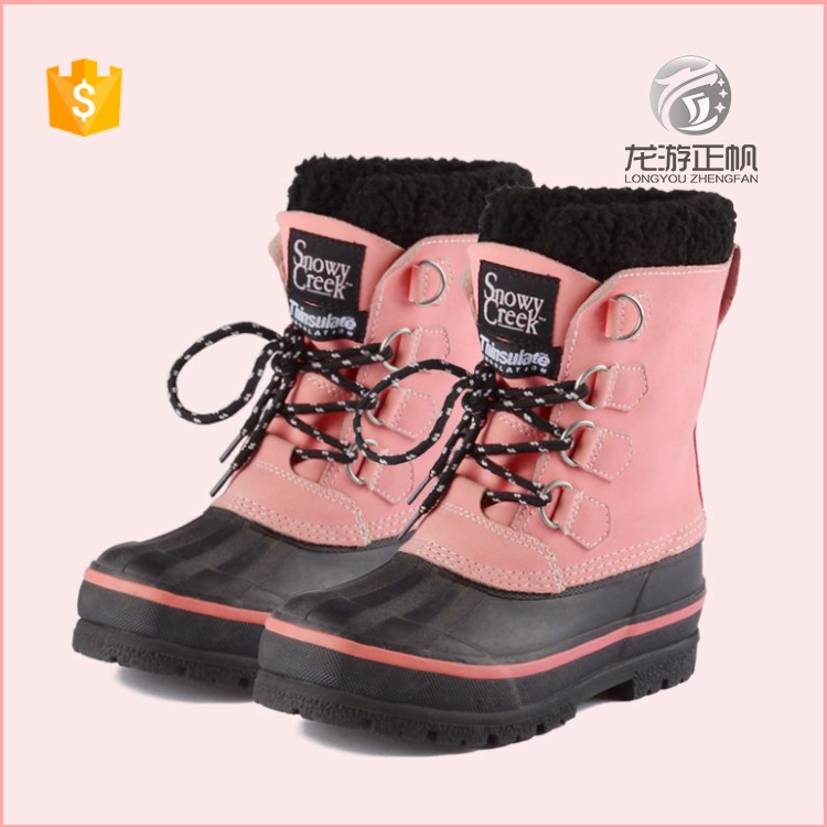 Hot Fashion Children Winter Snow Boots New Warm Kids Winter Boots Girl