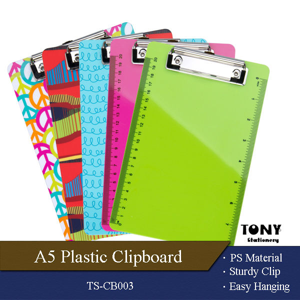 Cheap Good Quality Eco Colorful Mini Clipboard