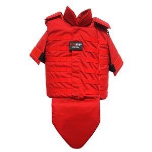 Full protection stab proof vest 24JR and bullet proof vest heavy NIJ iiia .44 protect level PE+ Aramid double protective