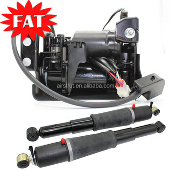 Rear Auto Ride Air Shocks And Compressor Pump For Gmc Yukon 1500 Cadillac  Dts Chevrolet Suburban Avalanche Tahoe - Buy Air Ride Shock Compressor For