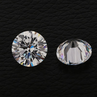 Wholesale High Quality 5A Loose Gemstones Round Shape 8 Hearts 8 Arrows White CZ Cubic Zirconia AAAAA Stone