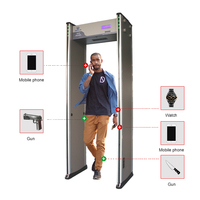 UNIQSCAN wholesale walk through metal detector security products used in airport