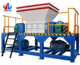 Environmental protection equipment double shaft used tire recycling machine