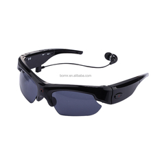Cheap spy bluetooth sunglasses 1920x1080p hidden camera for HD video recording