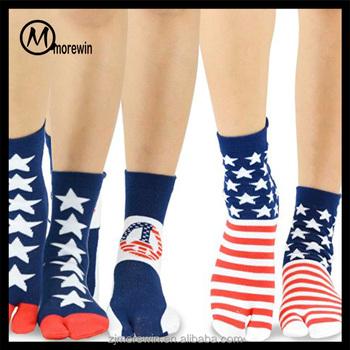 71e6325d9 2016 Morewin Men s Lightweight Socks 2-Toe Socks Flip Flop Socks Tabi Get a  Sock