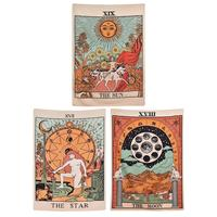 3 Pack Tarot Tapestry The Sun The Moon The Star Tapestry