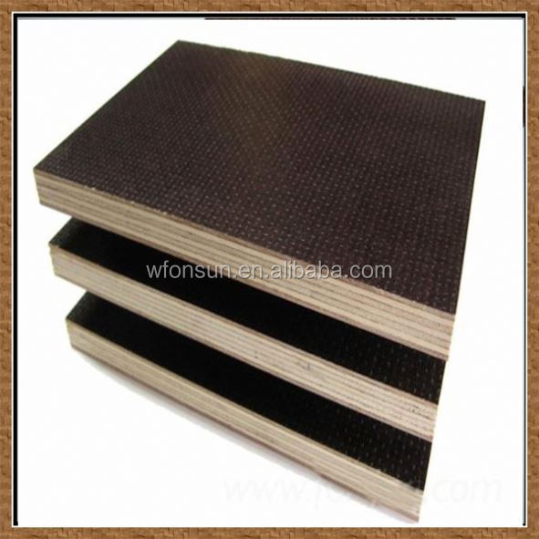 wholesale top quality film faced plywood for concrete form for furniture