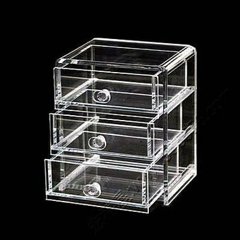 Clear Countertop Acrylic Jewelry Organizer Box Whit Drawer Buy