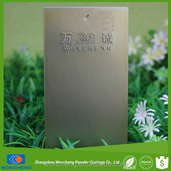 Champaign Color Semi Gloss Powder Paint For Metal