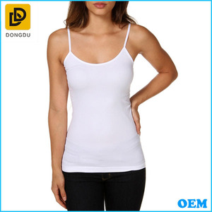 Wholesale Ladies Fashion Jersey Strappy Cami Women Tops