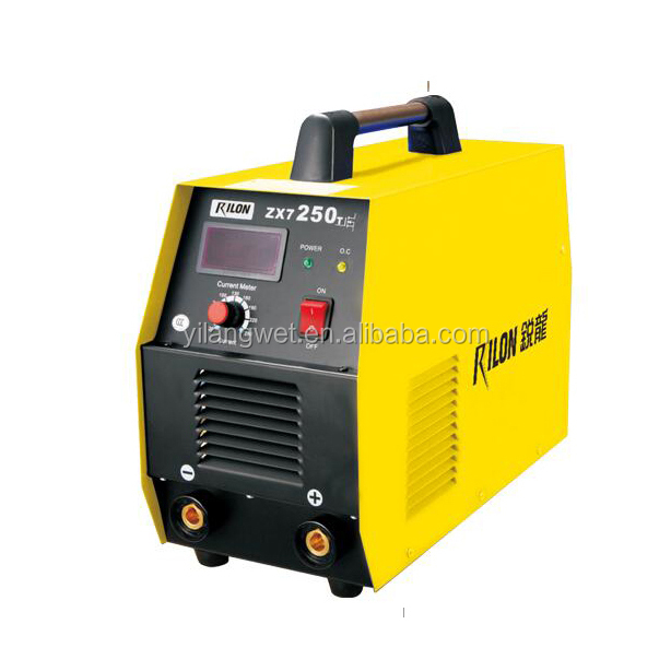 Rilon low cost DC Inverter mma 250 amp inverter welding machine