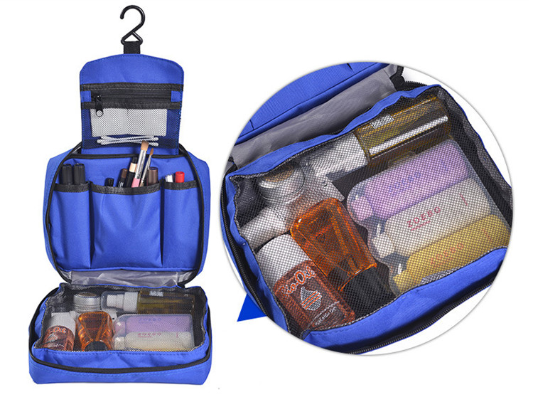 Dual Compartment Toiletry Bag For men women cosmetic Travel Washing Bag
