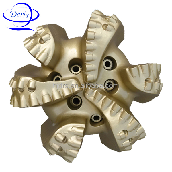 12 .25 inch 1308 cutters matrix steel body pdc oil well drilling bits prices