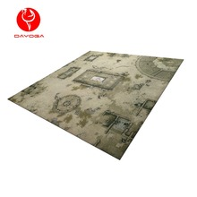 36*36inch Custom desgin Large size outdoor thin nature rubber play mats