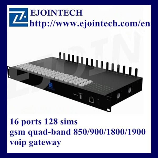 Ejoin latest 16 channels 128 sim cards sip voip server equipment gsm gateway goip firmware update