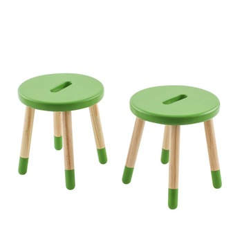 Round Children Stool Two Stone Whole Child Wood Kids Step Product On Alibaba