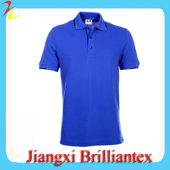 Royal Blue Plain Polo Shirt,Simple Style Polo Shirt