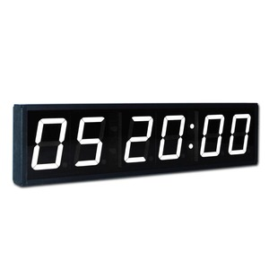 Jumbo Electronic 4 Inch Large Led Countdown Wall Clock with Timer