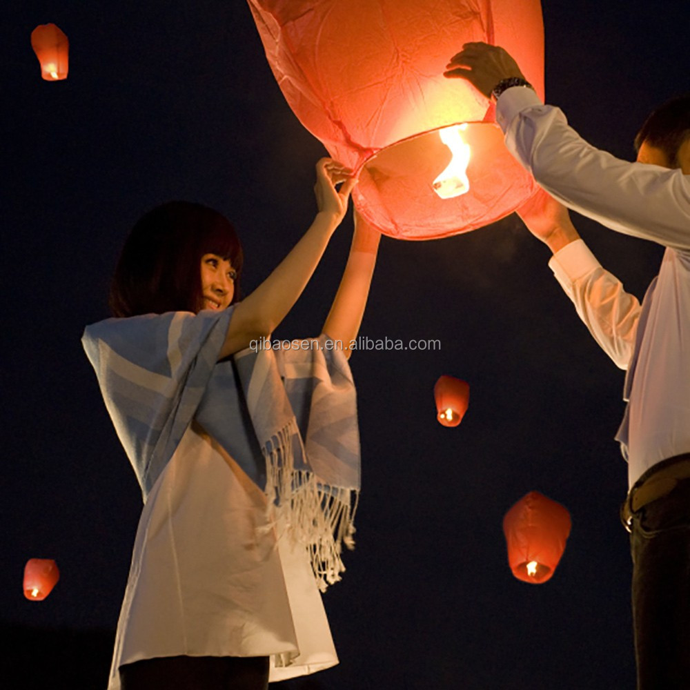 Wholesale Hot Air Fire Balloon Paper Lantern/ Chinese Flying Sky ...
