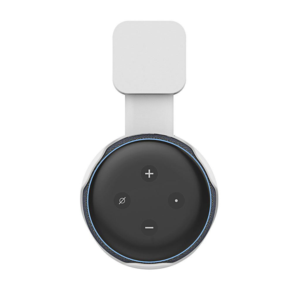New Outlet Echo Dot 3rd Generation Wall Mount Holder, A Space-Saving Solution for Your Smart Home Speakers Without Messy Wires