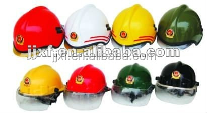 heat resisting rescue safety fire helmet for fire fighting