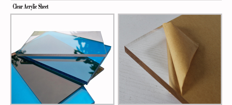 Transparent Acrylic Sheet Professional Milk Plexiglass