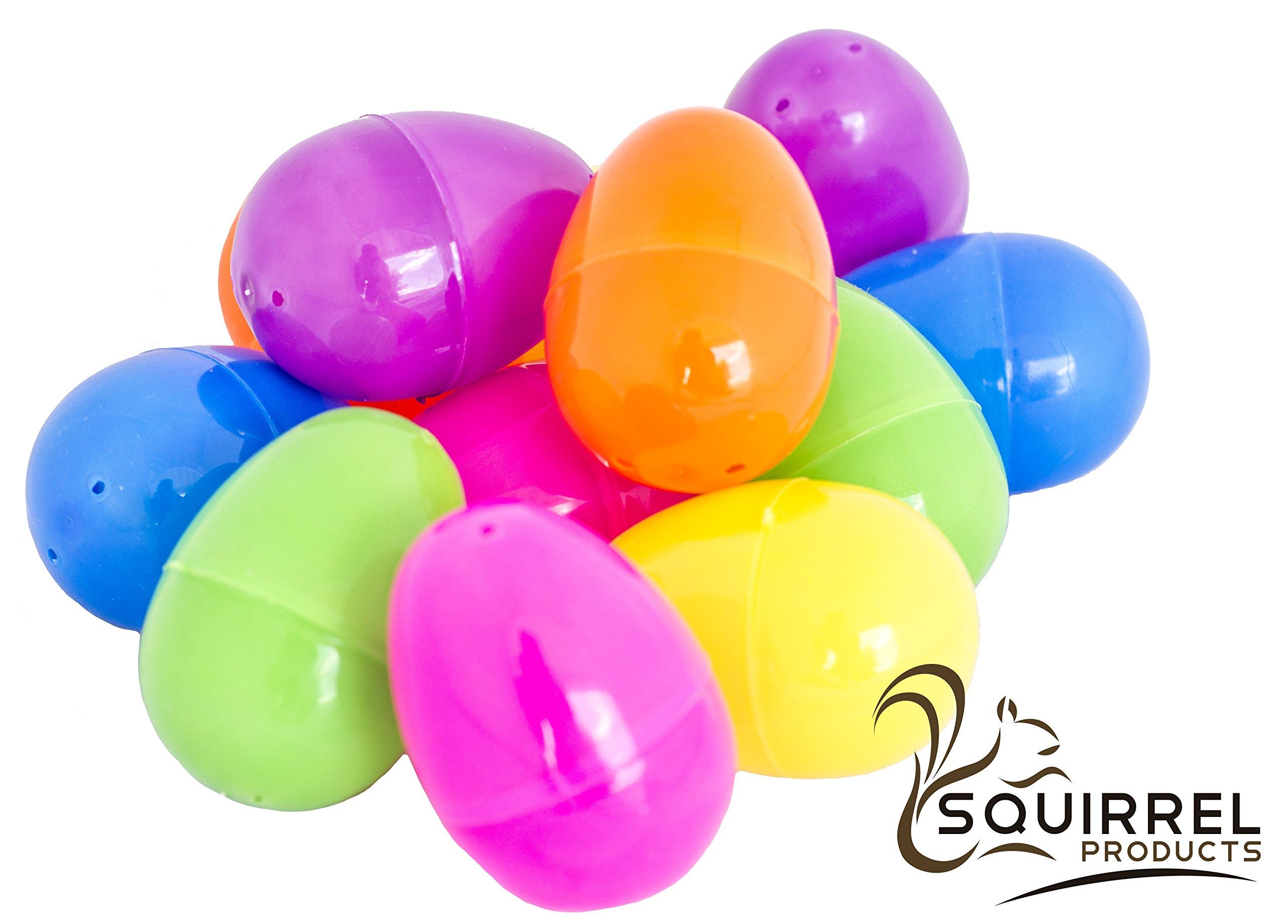 Plastic Easter Eggs Bright Egg Assortment 144 Count