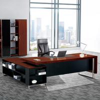 Modern Office Desk Price Wooden Executive Big Boss Office Table Design