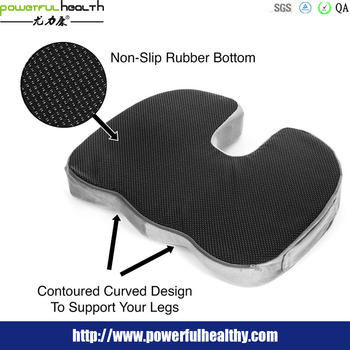 ergonomic office chair cushion upgraded non slip memory foam gel