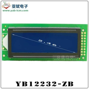 122X32 Display, St7920 Controller Lcd Module, Chinese Word Stock Display