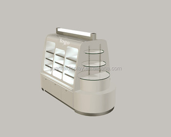 Custom Exhibition Stand Price : Factory price cosmetic display stand with lights custom exhibition