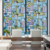 Easy Removable Bathroom Decoration Stained Privacy Frosted Glass Window Film for glass door