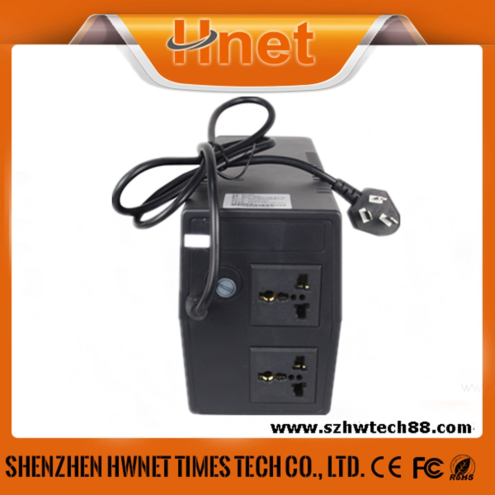 Hnet 400va 12v ups rechargeable battery and mini small size ups