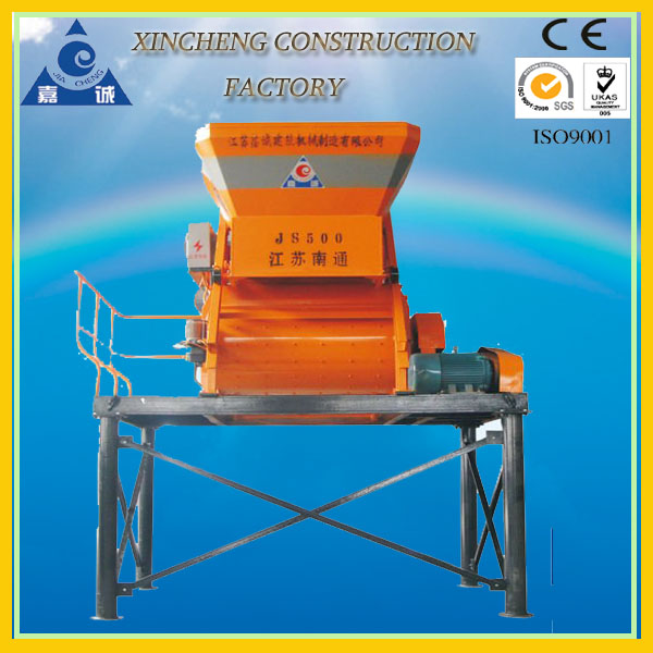 Xincheng Manufactured JS500 Concrete Mixer from Xin Cheng Factory
