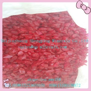 Red Glass Sand 20-40 mesh