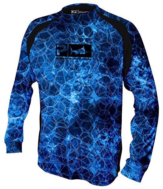 Performance Fishing wear UPF 50 Fit Mens Long Sleeve Anti-bacterial