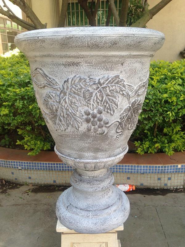 urna de jardn jardineras altas olla grande de plstico