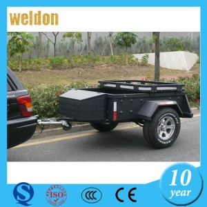 WELDON Custom Made aluminum car trailer