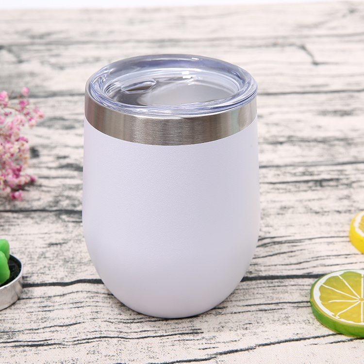 Wholesale Vacuum Insulated Stemless Coffee Cups Water Tumbler With Lid