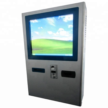 Touch kiosk Coin Operated kiosk with printer