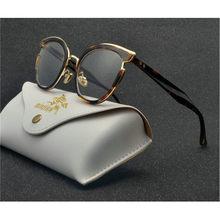 Модные готовые очки для близорукости Женская овальная оправа для кошки прозрачные линзы очки для зрения-1-1,5-2-2,5-3-3,5-4 NX(Китай)