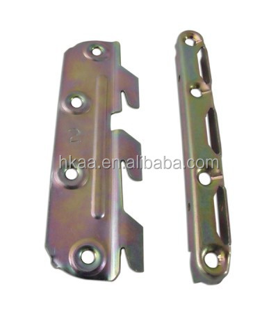 Bronze Bed Rail Connecting Fitting Bracket