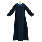 fashionable wholesale saudi arab design abaya women thobe
