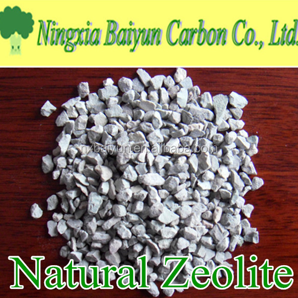 Water treatment filter media 2-4mm Natural Zeolite Price