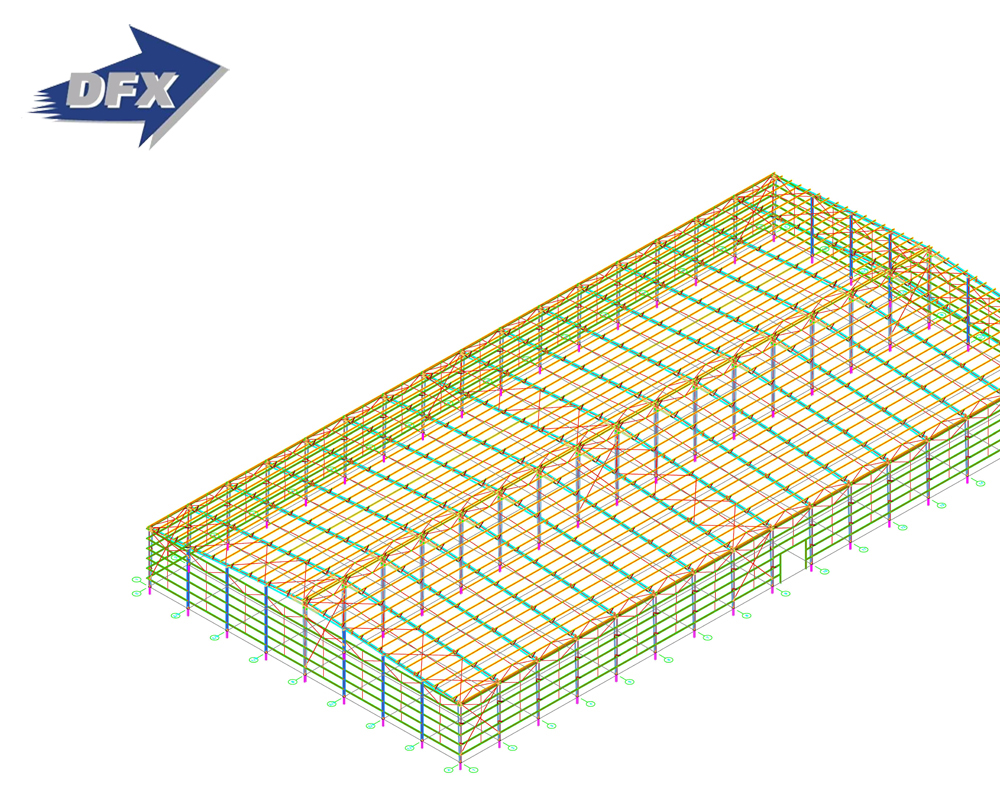 Iso Construction Design Steel Structure Warehouse Design Dwg - Buy Steel  Structure Warehouse Dwg,Warehouse Dwg,Structures Steel Dwg Product on
