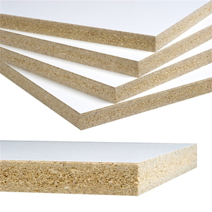 High density White pre-laminated particle board