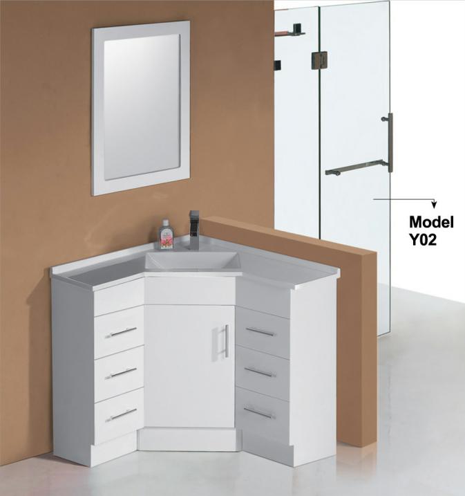 Eckschrank Bad hoek wastafel kast badkamer wastafelmeubel badkamer ijdelheden product id 60243962422