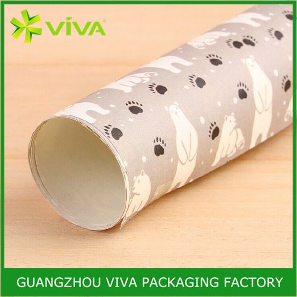 Factory Price Nice design Disposable heavy duty wrapping paper