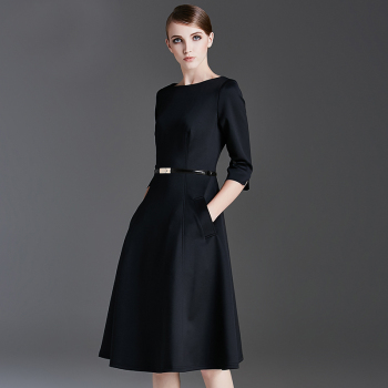 Black Dress For Womens Business Banquet Wear Fashion Design Buy