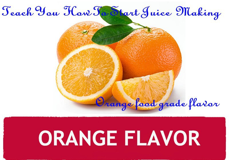 Concentrated liquid food flavoring Fruit flavor concentrate of orange flavor for juice